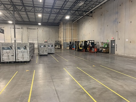 cost involved leasing warehouse space
