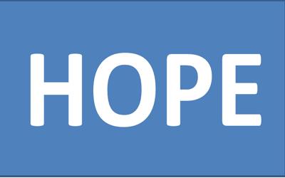 Hope is one word entrepreneurs avoid