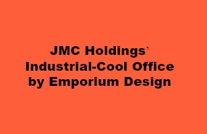 JMC Holdings' Industrial-Cool Office by Emporium Design