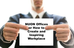 NUON Offices or How to Create and Inspiring Workplace