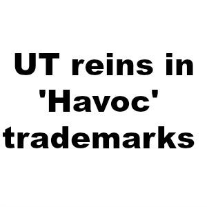 Smart move? UT reins in 'Havoc' trademarks, avoids legal fight over hoops slogan