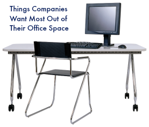 Things Companies Want Most Out of Their Office Space