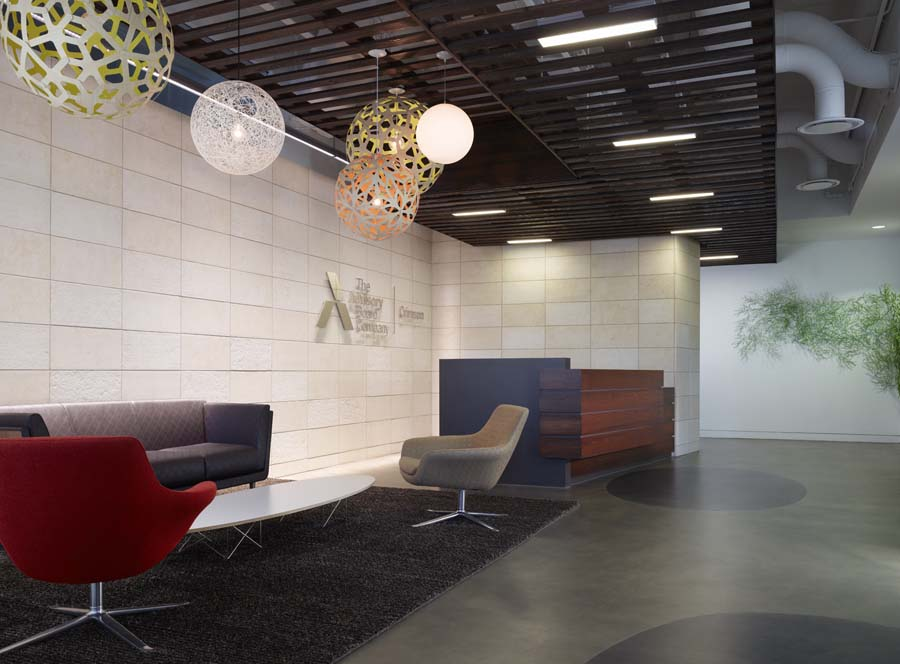 office space reception in austin