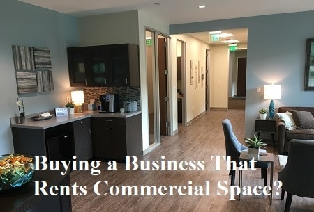 buying business that rents commercial space