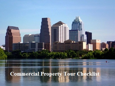 commercial lease tour checklist