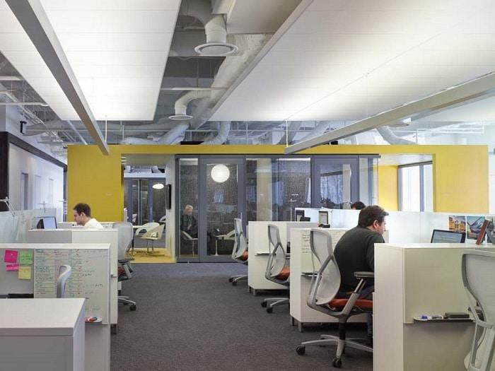 creative open office area