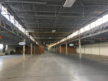 how to rent warehouse space