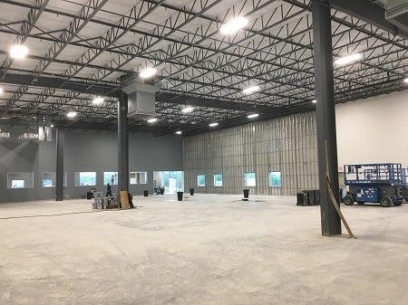 lower industrial space costs