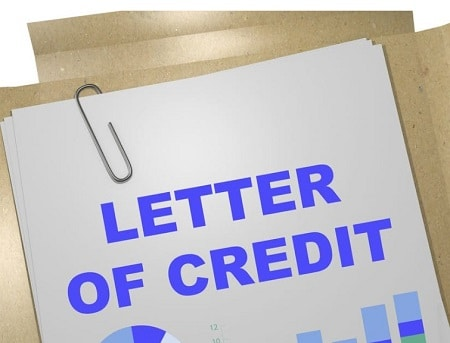 letter of credit commercial property