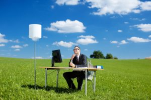 man-working-from-anywhere