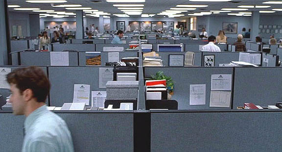 office space design of the past