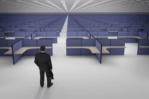 open office space plans louder