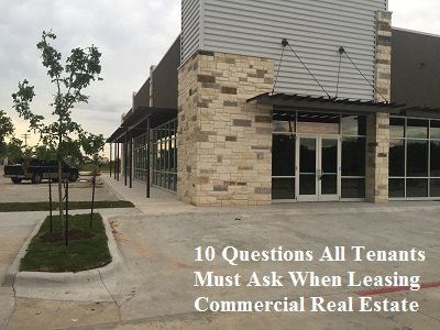 lease commercial real estate