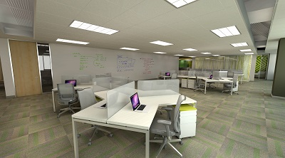 tech company office space