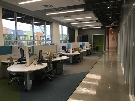 things affect office buildout cost