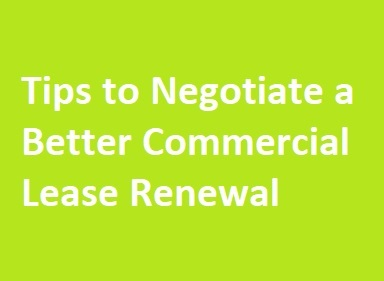 commercial lease negotiation tips