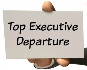 top executive departure