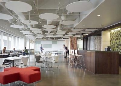 top trends in office space design