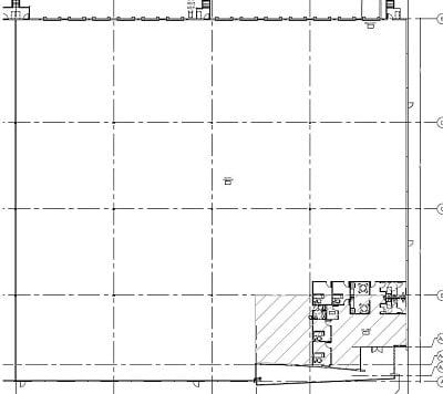 warehouse rental space plan